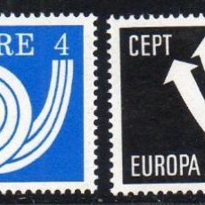 Sellos: IRLANDA AÑO 1973 YV 291/2** EUROPA . Lote 98801611