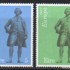Sellos: IRLANDA AÑO 1974 YV 304/5** EUROPA - ESCULTURA - ARTE - J H FOLEY - PERSONAJES. Lote 98801859