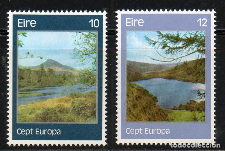 IRLANDA AÑO 1977 YV 363/4** EUROPA - PAISAJES - PARQUES NATURALES - TURISMO (Sellos - Extranjero - Europa - Irlanda)