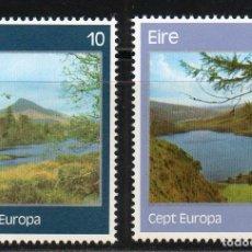 Sellos: IRLANDA AÑO 1977 YV 363/4** EUROPA - PAISAJES - PARQUES NATURALES - TURISMO. Lote 98806295