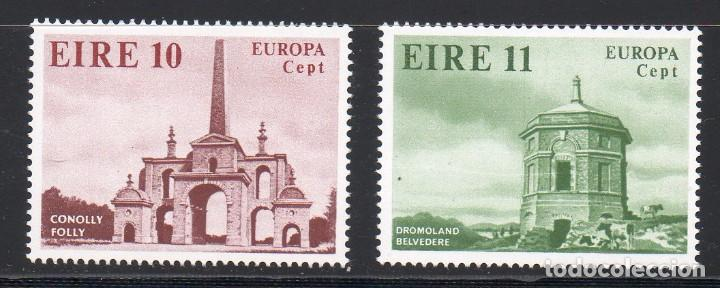 IRLANDA AÑO 1978 YV 394/5** EUROPA - ARQUITECTURA - ARTE (Sellos - Extranjero - Europa - Irlanda)
