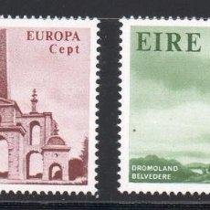 Sellos: IRLANDA AÑO 1978 YV 394/5** EUROPA - ARQUITECTURA - ARTE. Lote 98806415