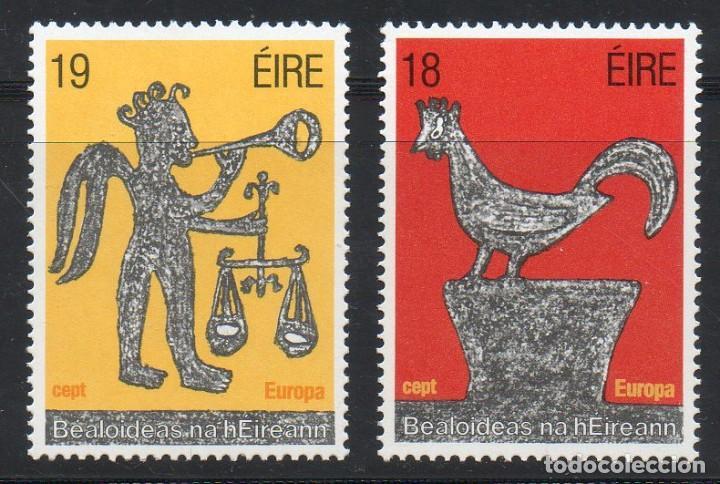 IRLANDA AÑO 1981 YV 440/1** EUROPA - FOLKLORE - FIESTAS POPULARES (Sellos - Extranjero - Europa - Irlanda)