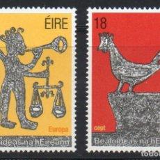 Sellos: IRLANDA AÑO 1981 YV 440/1** EUROPA - FOLKLORE - FIESTAS POPULARES. Lote 98806803