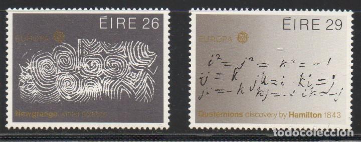IRLANDA AÑO 1983 YV 504/5** EUROPA - GRANDES OBRAS DE LA HUMANIDAD (Sellos - Extranjero - Europa - Irlanda)