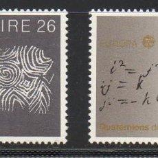 Sellos: IRLANDA AÑO 1983 YV 504/5** EUROPA - GRANDES OBRAS DE LA HUMANIDAD. Lote 98807083