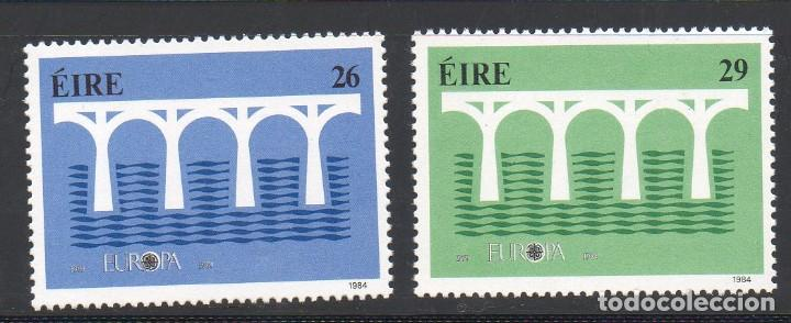 IRLANDA AÑO 1984 YV 541/2** EUROPA - 25 ANVº CONFERENCIA EUROPEA - PUENTES (Sellos - Extranjero - Europa - Irlanda)