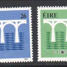 Sellos: IRLANDA AÑO 1984 YV 541/2** EUROPA - 25 ANVº CONFERENCIA EUROPEA - PUENTES. Lote 98807255