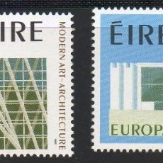 Sellos: IRLANDA AÑO 1987 YV 626/7** EUROPA - EDIFICIOS - ARQUITECTURA MODERNA. Lote 98807759