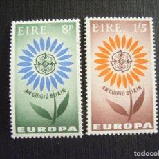 Sellos: IRLANDA Nº YVERT 167/8*** AÑO 1964. EUROPA. Lote 98987435
