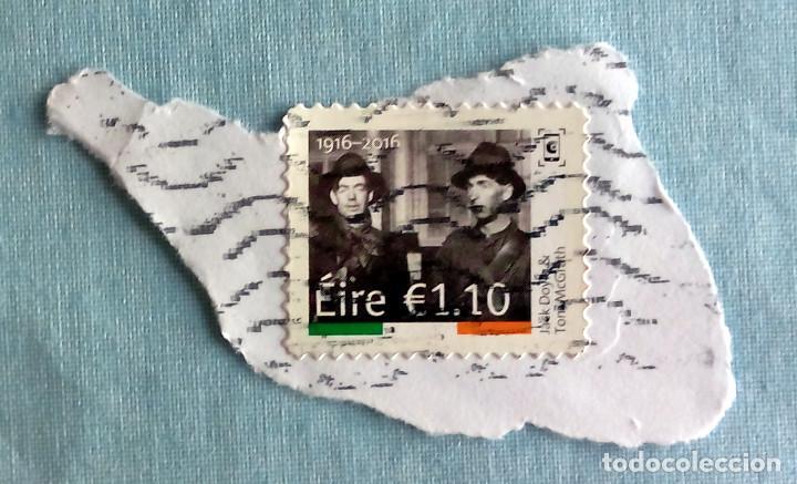 SELLO EIRE CONMEMORATIVO 1916-2016, USADO (Sellos - Extranjero - Europa - Irlanda)