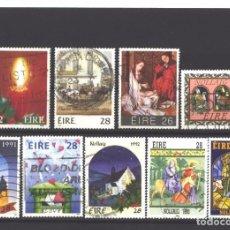 Sellos: IRLANDA 1985-1994 - 9 SELLOS DIFERENTES - USADOS. Lote 105932775
