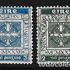 Sellos: IRLANDA 1932 CONGRESO EUCARISTICO INTERNACIONAL . Lote 109591583
