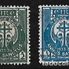 Sellos: IRLANDA 1933 AÑO SANTO SERIE COMPLETA. Lote 109592019