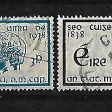 Sellos: IRLANDA 1938 CENTENARIO DE LA CRUZADA DEL PADRE MATHEW SERIE COMPLETA . Lote 109592503