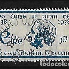 Sellos: IRLANDA 1938 CENTENARIO DE LA CRUZADA DEL PADRE MATHEW USADO. Lote 109592679