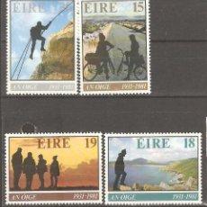 Sellos: IRLANDA,1981,CAT.YT.446/449.. Lote 113479311