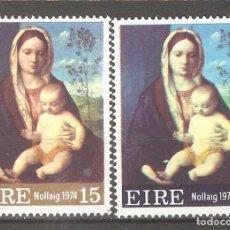 Sellos: IRLANDA,1974,CAT.YT.313/314.. Lote 113479655