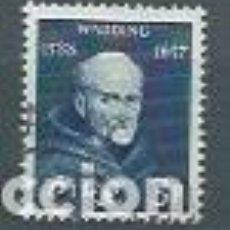 Timbres: IRLANDA,LUKE WADDING,1957,YVERT 134,USADOS. Lote 116508115