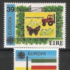 Sellos: IRLANDA 1986 - YT 592/3 - EUROPA CEPT - MNH**. Lote 119662515