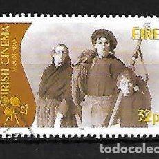 Sellos: CINE EN IRLANDA. SELLO AÑO 1996. Lote 128265583