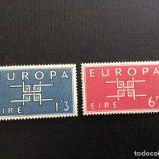 Sellos: IRLANDA Nº YVERT 159/0*** AÑO 1963. EUROPA. Lote 133062414