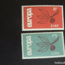 Sellos: IRLANDA Nº YVERT 175/6*** AÑO 1965. EUROPA. Lote 133500858