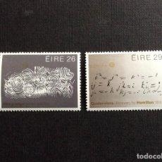 Sellos: IRLANDA Nº YVERT 504/5*** AÑO 1983. EUROPA. Lote 134956206