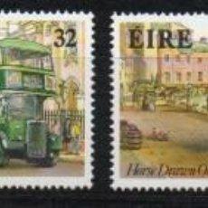 Sellos: IRLANDA AÑO 1993 YV 838/1*** AUTOBUSES - TRANSPORTES. Lote 137159470