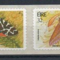 Sellos: IRLANDA AÑO 1994 YV 868/1**** SELLOS ADHESIVOS - MARIPOSAS - INSECTOS - FAUNA. Lote 137160646