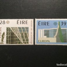 Sellos: IRLANDA Nº YVERT 626/7*** AÑO 1987. EUROPA ARQUITECTURA. Lote 138630330