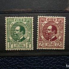 Sellos: IRLANDA-1943-Y&T 95/6**(MLH). Lote 138823210