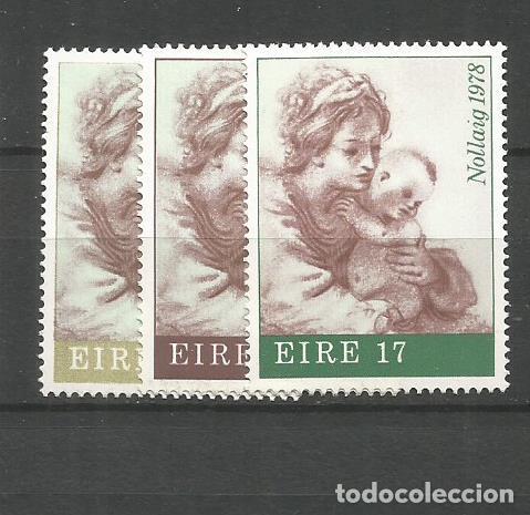 IRLANDA YVERT NUM. 391/393 ** SERIE COMPLETA SIN FIJASELLOS (Sellos - Extranjero - Europa - Irlanda)