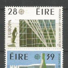 Sellos: IRLANDA YVERT NUM. 626/627 ** SERIE COMPLETA SIN FIJASELLOS EUROPA. Lote 143143546