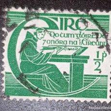 Sellos: IRLANDA - III CENTENARIO DE LA MUERTE DE MICHAEL O´CLERIGHS - 1944 . Lote 145838354