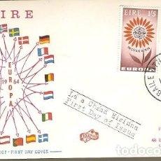 Sellos: IRLANDA & FDC CPTE EUROPA, AAILE ÁTHA CLIATH 1962 (167). Lote 149592242