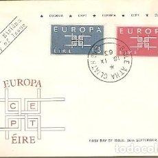 Sellos: IRLANDA & FDC CPTE EUROPA, AAILE ÁTHA CLIATH 1963 (159) . Lote 149592366