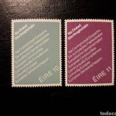 IRLANDA. YVERT 396/7 SERIE COMPLETA NUEVA SIN CHARNELA. ELECCIONES PARLAMENTO EUROPEO