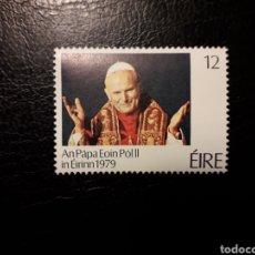 Sellos: IRLANDA. YVERT 410 SERIE COMPLETA NUEVA SIN CHARNELA. PAPA JUAN PABLO II.. Lote 151567248