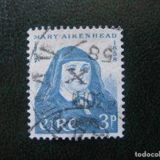 Sellos: IRLANDA, 1958 ANIV.MARY AIKENHEAD, YVERT 138. Lote 154492922