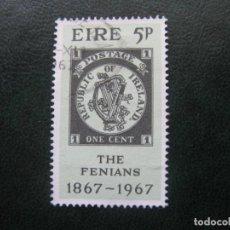 Sellos: IRLANDA, 1967 YVERT 199. Lote 154633526