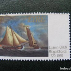 Sellos: IRLANDA, 1970 ANIV. ROYAL CORK YATCH CLUB, YVERT 244. Lote 154639038