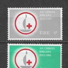 Sellos: IRLANDA 1963 ** NUEVO SC 190-191 1.50 - 3/32. Lote 158788210