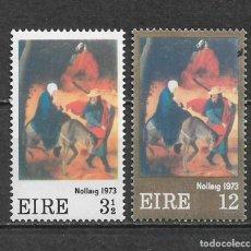 Sellos: IRLANDA 1973 ** NUEVO SC 336-337 1.60 - 3/32. Lote 158788442