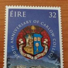 Sellos: IRLANDA :N°835 MNH, AÑO 1993. Lote 161784913