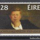 Sellos: IRLANDA / KENNEDY - SELLO NUEVO MNH**. Lote 167853948