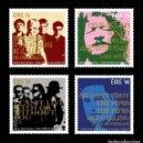 Sellos: IRELAND/EIRE 2019 - ROCK GREAT IRISH SONGS STAMP SET MNH. Lote 168306336