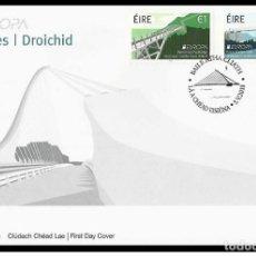 Sellos: IRELAND/EIRE 2018 - EUROPA C.E.P.T. BRIDGES FDC. Lote 183964968