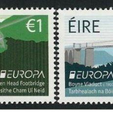 Sellos: IRELAND/EIRE 2018 - EUROPA C.E.P.T. BRIDGES STAMP SET MNH. Lote 168380781