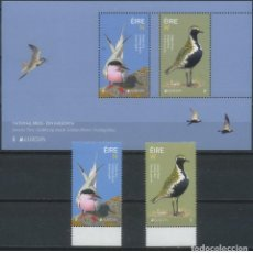Sellos: IRELAND/EIRE 2019 - EUROPA C.E.P.T. BIRDS COMPLETE SET MNH. Lote 168380813